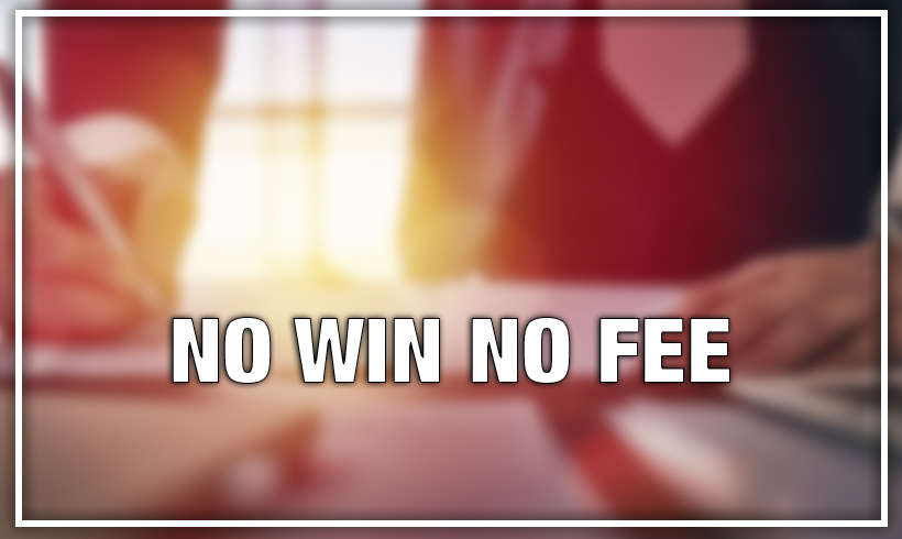 NO Win No Fee Claims