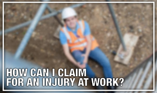 How can I claim for an injury at work