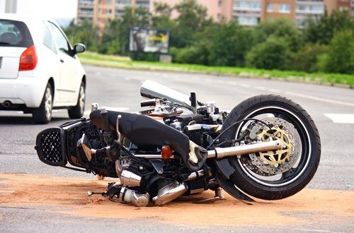 Can I get a replacement motorbike after an accident?